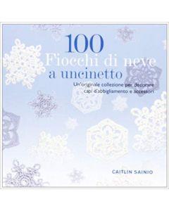 100 Fiocchi di Neve a Uncinetto - Libro (min. acquisto 10 pezzi)