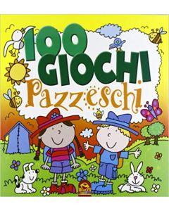 100 Giochi Pazzeschi - Giallo - Libro (min. acquisto 10 pezzi)