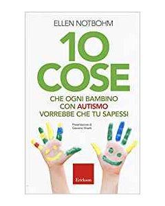 10 Cose che Ogni Bambino con Autismo Vorrebbe che Tu Sapessi - Libro (min. acquisto 10 pezzi)