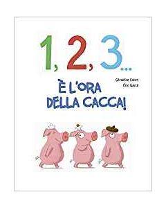 1, 2, 3, Cacca! - Libro (min. acquisto 10 pezzi)