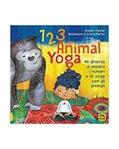1 2 3 Animal Yoga - Libro (min. acquisto 10 pezzi)