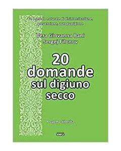 20 Domande sul Digiuno Secco - Libro (min. acquisto 10 pezzi)