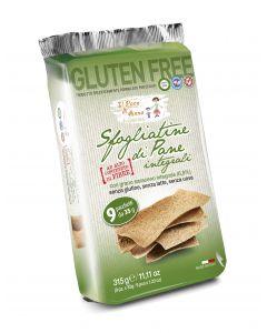 Sfogliatine Di Pane Integrali Senza Glutine/ Senza Uova / Senza Latte