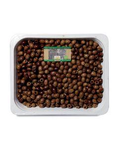 Olive nere denocciolate in vaschetta 4,2kg BIO