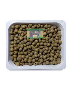 Olive verdi denocciolate in vaschetta 4,2kg BIO