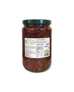 Pomodori semisecchi sott'olio 1,6kg BIO