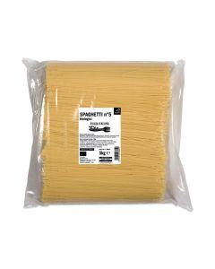 Spaghetti trafilati al bronzo 5kg BIO (min. acquisto 10 pezzi)