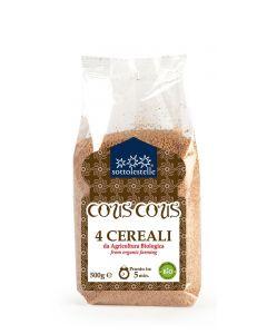 Cous Cous 4 Cereali 500 g Bio