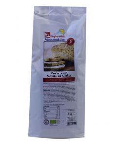 Preparato per Pane con semi di Chia 1Kg BIO senza glutine