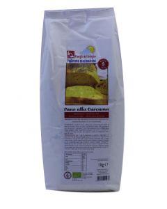 Preparato per Pane alla Curcuma 1Kg BIO senza glutine