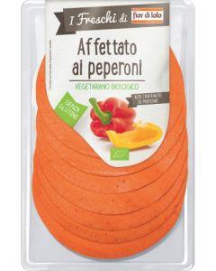 Affettato vegetale ai peperoni I Freschi di 80 g BIO