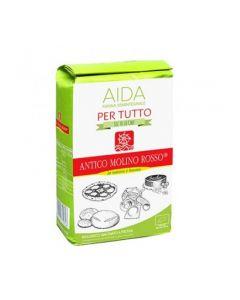 Farina di Grano Tenero Semintegrale Tipo 1 - Aida - 1Kg BIO