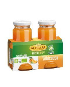 Bevanda di frutta SuccoMio all'albicocca 2x200ml