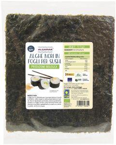 Alga nori in fogli per sushi 25 g BIO  (min. acquisto 10 pezzi)