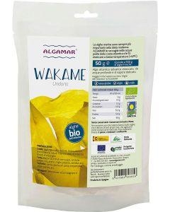 Alga wakame 50 g BIO senza glutine  (min. acquisto 10 pezzi)
