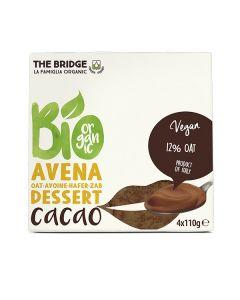 Avena dessert al cacao 4 x 110 g BIO (min. acquisto 10 pezzi)