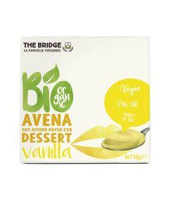 Avena dessert alla vaniglia 4 x 110 g BIO (min. acquisto 10 pezzi)