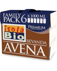 Avena drink bauletto in roll 6x1 litri BIO  (min. acquisto 6 pezzi)