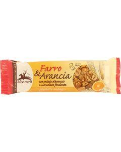 Barretta Farro  Arancia con miele e cioccolato fondente 22 g BIO