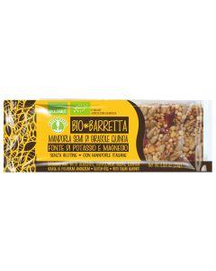 Barretta mandorle semi di girasole e quinoa 25 g BIO