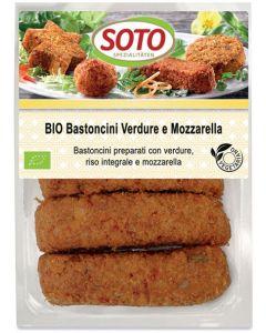 Bastoncini verdure e mozzarella 5x35 g BIO  (min. acquisto 10 pezzi)