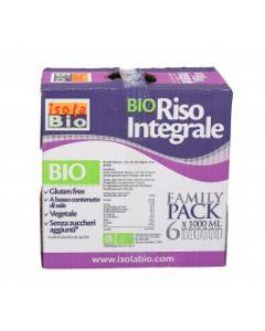 Bauletto Family Pack Riso Integrale 6 x 1 L BIO (min. acquisto 6 pezzi)