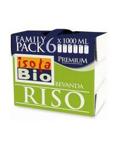 Bauletto Family Pack Riso Premium 6 x 1 L BIO (min. acquisto 6 pezzi)