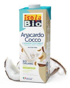 Bevanda di anacardi e cocco 1 L BIO (min. acquisto 10 pezzi)