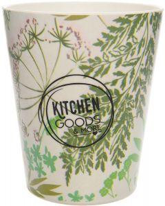 Bicchiere verde in bambù 100 g (min. acquisto 10 pezzi)