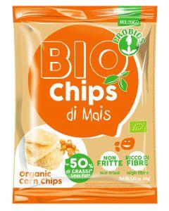 Bio chips di mais non fritte 40 g BIO