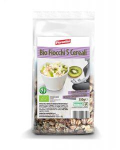 Fiocchi con 5 Cereali 350 g BIO