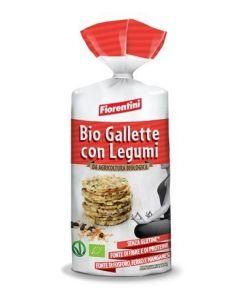 BioGallette Con Legumi Senza glutine 120 g