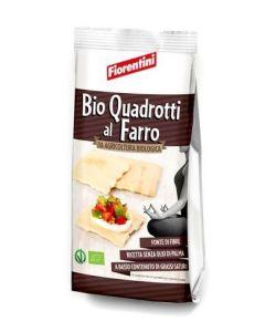 Bio Quadrotti Croccanti Al Farro 200 g