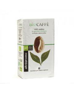 Biocaffè moka ed espresso 100% arabica 250 g