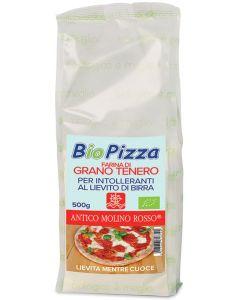 Biopizza istantanea grano tenero 500 g BIO  (min. acquisto 10 pezzi)