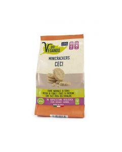 Biovegando MiniCrackers Ceci 150 g BIO