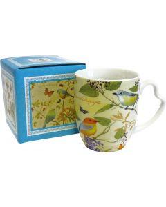 Bird giallo - mug con scatola regalo coordinata 400 g (min. acquisto 10 pezzi)