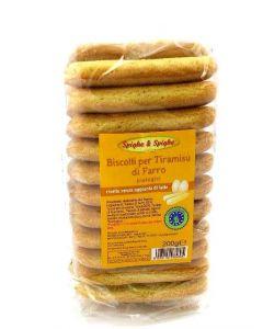 Biscotti per Tiramisù di Farro 200g BIO (min. acquisto 10 pezzi)
