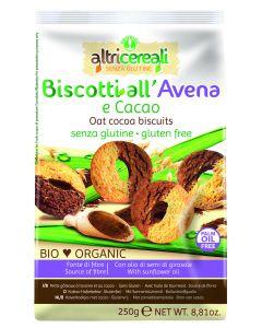 Biscotti di avena e cacao Altri Cereali 250 g BIO