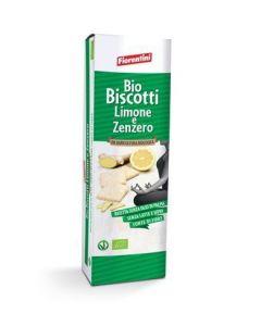 Biscotti Limone e Zenzero 150g BIO