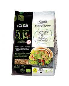 Bocconcini di soia senza glutine 150 g BIO