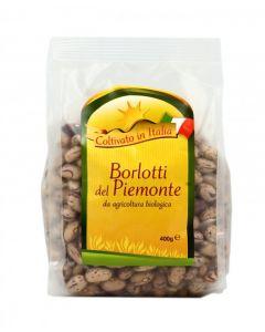 Borlotti del Piemonte 400 g BIO (min. acquisto 10 pezzi)