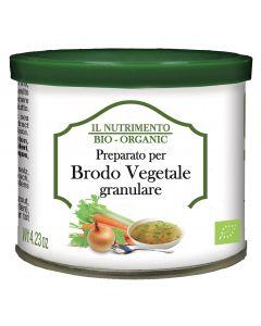 Brodo vegetale granulare 120 g BIO (min. acquisto 10 pezzi)