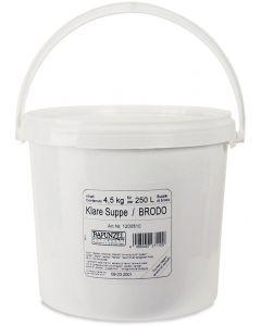 Brodo vegetale in polvere - ricarica 4 kg BIO