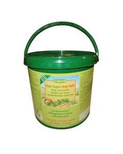 Brodo vegetale in polvere senza lievito aggiunto ricarica da 4,5 kg 4,5 kg BIO
