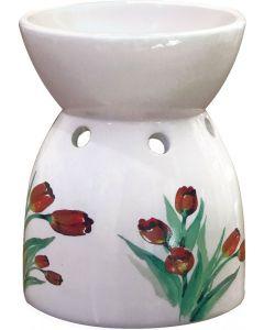 Brucia essenze in ceramica tulipani 1 pz (min. acquisto 10 pezzi)