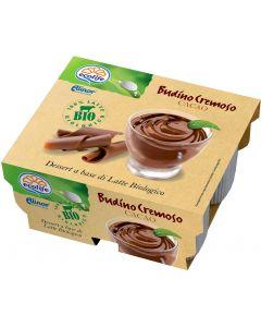 Budino latte cacao 400 g BIO senza glutine  (min. acquisto 10 pezzi)