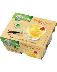 Budino latte vaniglia 4x100 g BIO senza glutine  (min. acquisto 10 pezzi)