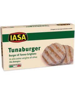 Burger di tonno grigliato in olio extra vergine di oliva 170 g BIO  (6 pezzi)