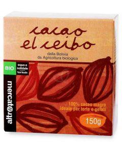 Cacao Magro equo e solidale 150g BIO